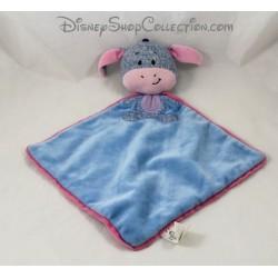 Doudou plato lana Eeyore DISNEY NICOTOY azul punto de cabeza de 33 cm