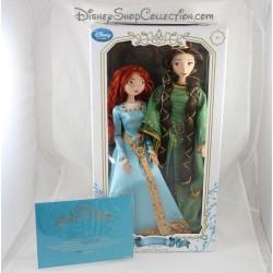 Muñeca limitada de Mérida y la reina Elinor DISNEY STORE limitada de edición rebelde Reina