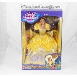 Belle DISNEY MATTEL destellos colección belleza especial y el muñeco de bestia