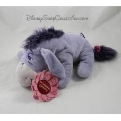 Peluche burro Eeyore DISNEY STORE alguien especial violeta Margarita