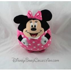 Peluche balle souris TY Disney Minnie boule ballon rose 22 cm