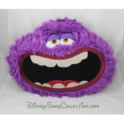 Cushion Art DISNEYLAND PARIS monsters and company head purple Disney 34 cm