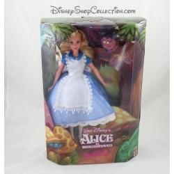 Muñeca a Alicia en la muñeca de coleccionista de país de las maravillas DISNEY MATTEL Cheshire cat