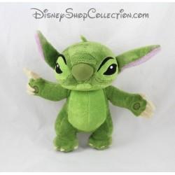 Peluche Stitch DISNEY Lilo et Stitch vert 25 cm