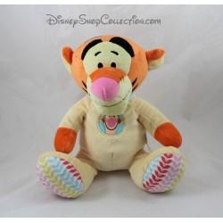 Peluche Tigrou NICOTOY pyjama jaune bébé Disney 23 cm