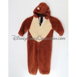 Disguise Tic and Tac EURO DISNEY squirrel Chip and Dale 3/4 years