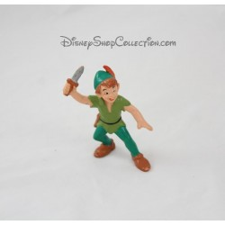 Figurine Peter Pan BULLYLAND Disney pvc peinte à la main 7,5 cm