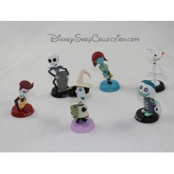 Lot de 6 figurines DISNEY L'étrange Noel de Monsieur Jack 8 cm