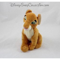 Peluche Nala DISNEYLAND PARIS Le Roi Lion Nala adulte assise Disney 19 cm