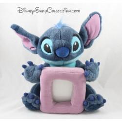 Plush photo Stitch DISNEY STORE 30 cm blue purple photo frame
