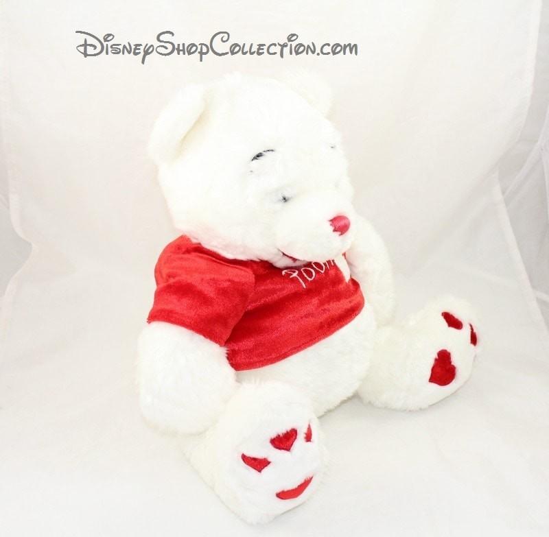 Valentin Peluche Blanc St Disney Rouge Winnie Store L'ourson Coeur uTKJ3F1c5l