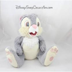 Conejo de peluche amigos de Pan Pan DISNEYLAND París Bambi y Thumper Disney 30 cm gris