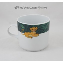 Mug Le Roi lion DISNEY Tables & Couleurs porcelaine Simba