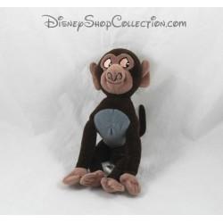 Peluche Manu singe DISNEY Tarzan petit singe babouin 17 cm