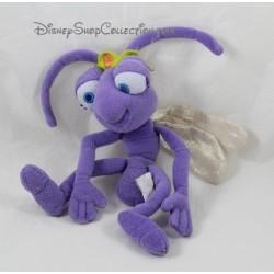 Peluche fourmi Princesse Atta DISNEY 1001 Pattes Reine mauve 24 cm