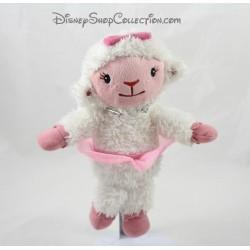 Peluche parlante mouton Caline DISNEY Docteur la peluche 23 cm