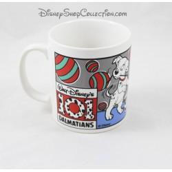 Mug chiens DISNEY Les 101 Dalmatiens tasse Stafforshire Tableware 9 cm