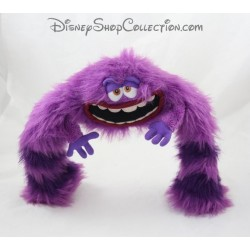 Articulated plush DISNEY STORE monsters and company Art 25 cm purple
