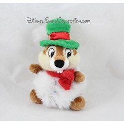 Plush Tic and Tac DISNEYLAND PARIS Christmas Tic ball green 18 cm Hat