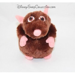 Stuffed rat Emile DISNEYLAND PARIS Ratatouille Disney Brown 17 cm