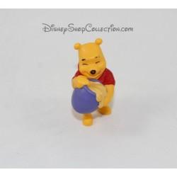 Figurine Winnie l'ourson DISNEY BULLY pot de miel orange 8 cm