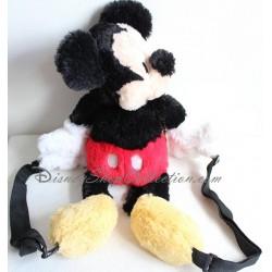 Sac à dos peluche Mickey DISNEYLAND PARIS poils longs doux 48 cm
