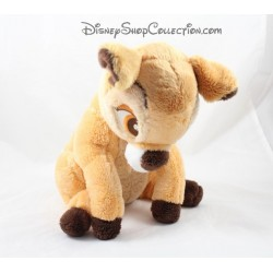 Peluche Bambi DISNEY STORE assise écusson officiel 30 cm