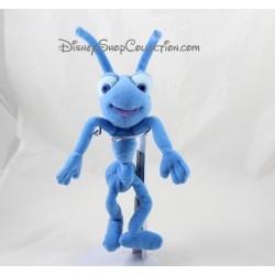Peluche Tilt fourmi DISNEY 1001 Pattes Pixar fourmi bleu 28 cm