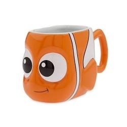 Pescado de taza naranja Nemo DISNEY STORE el 3D de buscando a Nemo
