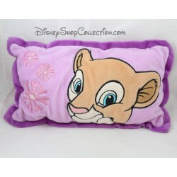 Coussin Nala DISNEY Le Roi Lion violet rectangle 39 cm