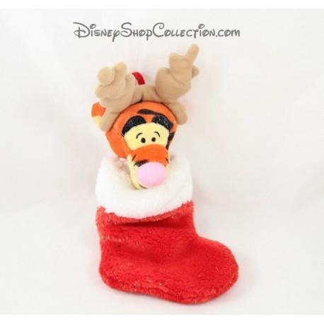 606996ddee7 Sock Christmas Tigger DISNEY STORE reindeer plush 26 cm - Disney...