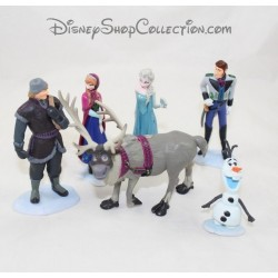 Figurines Queen of the snow DISNEY STORE lot of 6 figurines Pvc playset