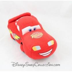 Peluche voiture Flash Mcqueen UNITED LABELS Disney Cars rouge 21 cm