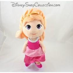 Doll plush Aurore DISNEY NICOTOY beauty and the sleeping beauty dress pink 30 cm