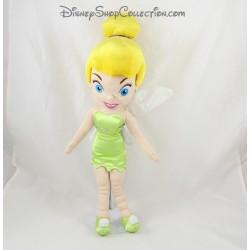 Hadas muñecas tela del satén del Tinker Bell DISNEYLAND París Vestido de verde 40 cm