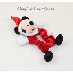 Mickey DISNEYLAND PARIS Christmas elastic hair scrunchie