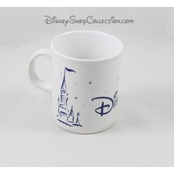 Mug Castle of DISNEYLAND PARIS blue white star 10 cm