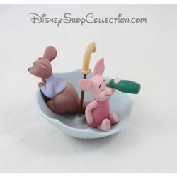 Cochinillo de la estatuilla y Roo DISNEY juntos es nuestra forma favorita de ser porcelana Pooh y amigos 10 cm
