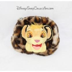 Porte monnaie Simba DISNEY Le Roi lion peluche léopard 10 cm