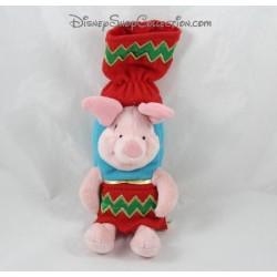 Plush piglet DISNEY STORE Christmas Humourous Xmas 25 cm crakers