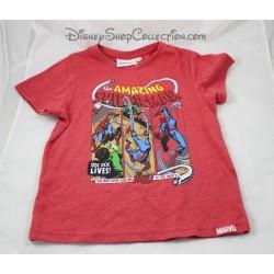T-shirt Ultimate Spider - Man bambino ragazzo MARVEL Spiderman a 6 anni