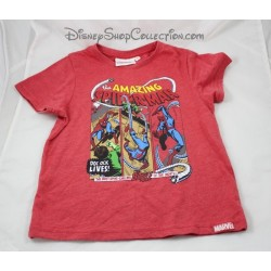 T-shirt Ultimate Spider-Man MARVEL garçon enfant 6 ans Spiderman