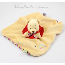 Security blanket Pooh DISNEY BABY striped scarf bee puppet 23 cm dish