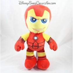Peluche Iron Man MARVEL super héros Play by Play rouge jaune 30 cm