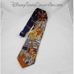 Cravate MICKEY INC Disney Le Roi Lion sur le rocher