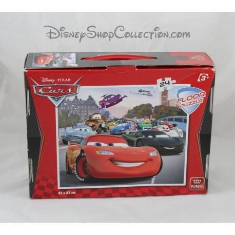 puzzle cars disney king 24 pi ces floor puzzle 61 x 51 cm 3 ans et. Black Bedroom Furniture Sets. Home Design Ideas