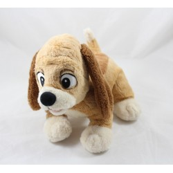 Plush dog copper DISNEYLAND PARIS Fox and the hound DIsney 25 cm