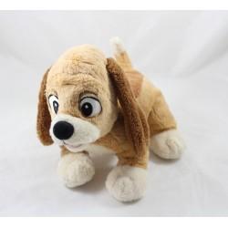 Plüsch Hund Kupfer DISNEYLAND PARIS Fuchs und Hund DIsney 25 cm