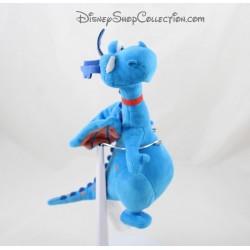 Dragón de peluche DISNEY STORE doctor Toufy felpa azul 24 cm