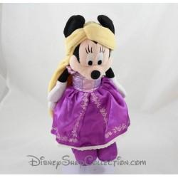 Peluche Minnie DISNEY PARKS déguisé en Raiponce 30 cm